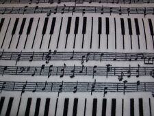 NEW Musical Notes Piano Baby Blanket fleece gift music shower pet note keys