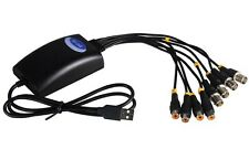 USB 4-Channel Real Time Hi-speed Camera Receiver Digital Video Capture Card