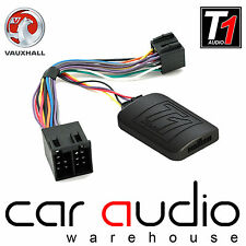 T1-VX1 Vauxhall Astra Steering Wheel & Phone Interface Adaptor FREE PATCH LEAD