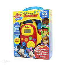 Disney Junior Sing Along Player and 8 Book Library