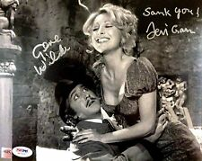 Gene Wilder & Teri Garr Dual Signed Young Frankenstein Knockers Movie Photo PSA