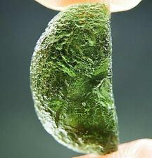 Moldavite - Elipsoid - natural fragment shape