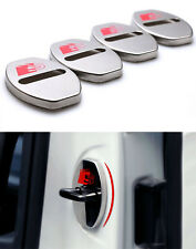 Sline S-line Stainless steel Door Striker Cover for Audi A1 A3 A4 A5 A6 Q3 Q5 TT