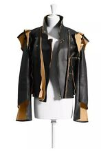MMM Maison Martin Margiela HM NOT BALMAIN leather biker jacket NWT US8 EUR 38