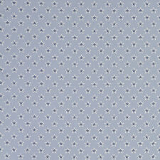 Fabric Remnant 100% Cotton 50cm x 40cm Shooting Stars Chambray