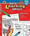 Daily Learning Drills : Grade 1 (2004, Paperback) Home school, New