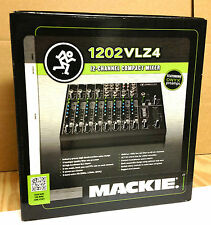 """Mackie 1202- VLZ4 mixer """"MINT"""" Great Mixer Great Deal SHIPPING INCLUDED 1202vlz4"""