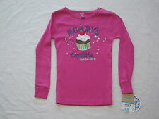Carter's Pink Cupcake Pajama (Top Only) Girls size 5 NWT G82168