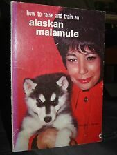 How To Raise & Train An Alaskan Malamute, Puppies Training Care Showing 1963