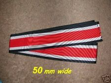 "GERMAN - Knights Cross of Iron Cross Ribbon x 18"".Free UK p&p"