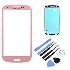 Pink Replacement LCD Screen Glass Lens Samsung Galaxy S3 i9300 I747 T999 NEW