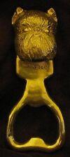 BRUSSELS GRIFFON, cropped ears, Bottle Opener in Bronze