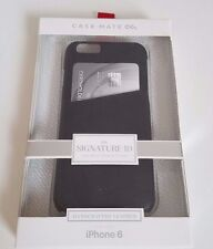 iPhone 6/6s Leather Signature ID Credit Card Case by Case-Mate NEW in Retail Box