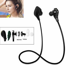 Stereo Bluetooth Headset Earphone For Samsung Galaxy S7 S6 Note 5 4 3 S5 S4 HTC