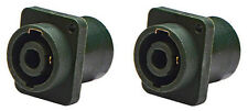 "(2 Pack) Procraft PC-TSC009 1/4"" Speakon Combo Jack Mono Connector, Neutrik mate"