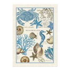 New Michel Design Works Seashore Kitchen Tea Towel