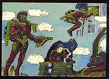 JACK KIRBY - The Unpublished Archives - Chromium Chase Card C6 - Video Rangers