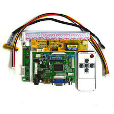 HDMI+VGA+AV LCD Controller Board Kit For LG Philips LP141WP1-TLD2 LP154WP4-TLA1