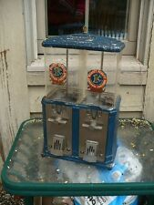 Vintage 1940's Double Nugget Gumball Vending Machine