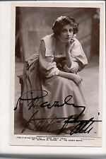 Vintage RPPC Autographed by Valli Valli, German musical comedy actress