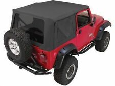 Rampage Complete Soft Top w/ Frame & Tint 97-06 Jeep Wrangler TJ 68835 Black