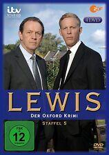 4 DVDs * LEWIS - DER OXFORD KRIMI : STAFFEL 5 # NEU OVP &