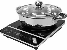 Rosewill RHAI-13001 1800W Portable Induction Cooker Cooktop Stainless Steel Pot