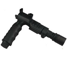 Aluminum 220 Lumen Flashlight and Foregrip with Flashlight Hold.