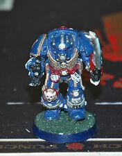 Warhammer 40K Space Marine Ultramarine Terminator (metal), Good Paint, basing
