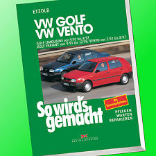 So wirds gemacht (Band 79) | VW GOLF III(3) Limousine/ VW VENTO| Repariere(Buch)