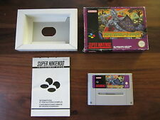 SUPER GHOULS'N GHOSTS          -----   pour SUPER  NINTENDO / SNES