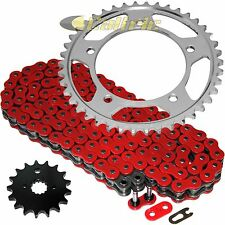 Red O-Ring Drive Chain & Sprockets Kit Fits SUZUKI GSX-R1000 GSXR1000 2001-08