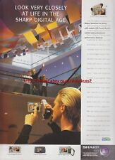 Sharp VL-PD1H Digital Viewcam Slim 1998 Magazine Advert #3100