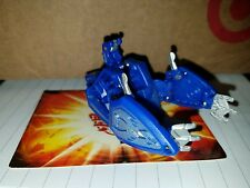 BAKUGAN Battle Gear TERRORCREST 110G Gundalian Invaders triangle Blue Aquos toy