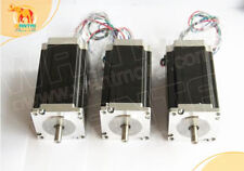 [US FREE SHIP]3pcs Nema 23 stepper motor WT57STH115-4204A 425oz-in 4.2A 4leads