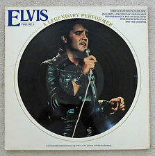 Elvis Presley A Legendary Performer Vol 3 Picture Disc USA 1978