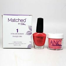 ANC Amazing Nail Concepts Matched kit # 1 Strawberry Daiquiri