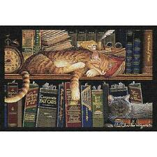 Remington the Cat & Companion Tapestry Placemat ~ Artist, Charles Wysocki