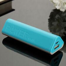 5000mah 5V 1A USB Power Bank Case Kit 18650 Battery Charger DIY blue  Box