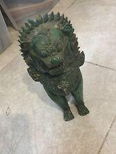 Vintage Metal Thai Foo Fu Dog