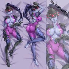 NEW Game OW Widowmaker Anime Dakimakura Pillow Case Cover Hugging Body