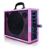 "Technical Pro WASP300P 6.5"" Portable PA System with Rechargeable Battery, Pink"