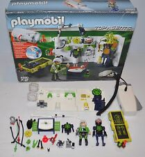 PLAYMOBIL Top Agents #4880 Robo Gangster Lab (parts & Pieces)