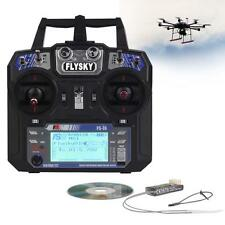 FS-i6 Flysky AFHDS 2A 6 Channel Radio Transmitter Receiver for RC Quadcopter LN