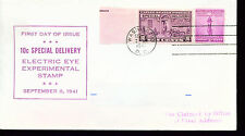 1942 FDC - Scott# E15 ELECTRIC EYE Single - WSE Cachet  ADD