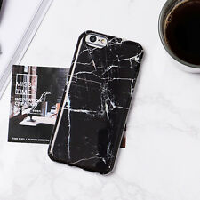 Art Glossy Granite Marble Soft Silicone Phone Case Cover For iPhone 6 6S 7 Plus