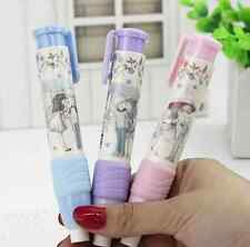 Unique Pen Shape Eraser Rubber Stationery Students Kids Gift Toy Korean Style