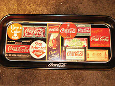 "COCA-COLA 1995  ""SIGN ART"" METAL TRAY"