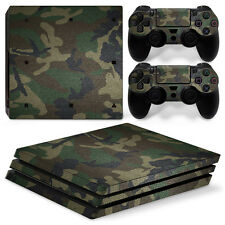 Playstation 4 PS4 Pro Skin Vinyl Design Folie Aufkleber Schutz Sticker ARMY BUND