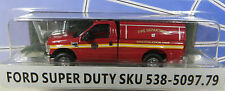 HO RPS 2008+ Ford F-350 XLT Pick-up w/Cap - Fire Dept. - NEW RELEASE